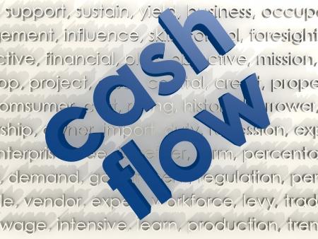 account management: Cash flow Stock Photo
