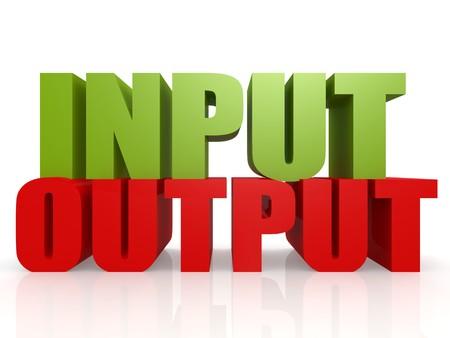 input: Input output