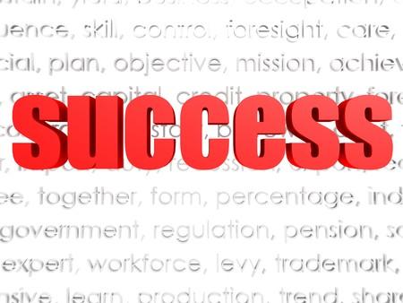 Success word cloud  Stock Photo