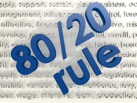 80 20 Rule