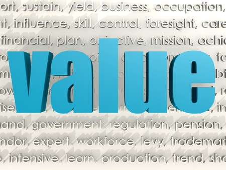 interactions: Value word cloud