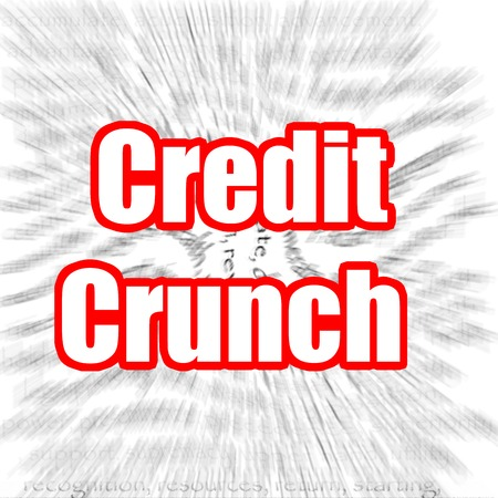 credit crunch: Credit Crunch Stock Photo