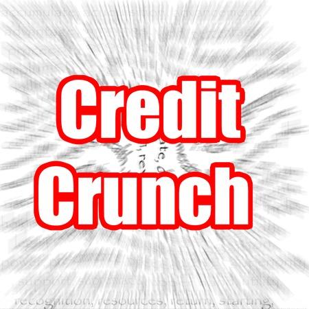 credit crunch: Credit Crunch Stock Photo