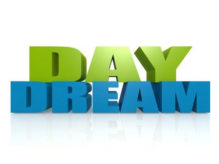 day dream: Day dream Stock Photo