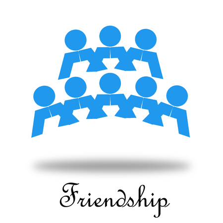 social worker: Friendship
