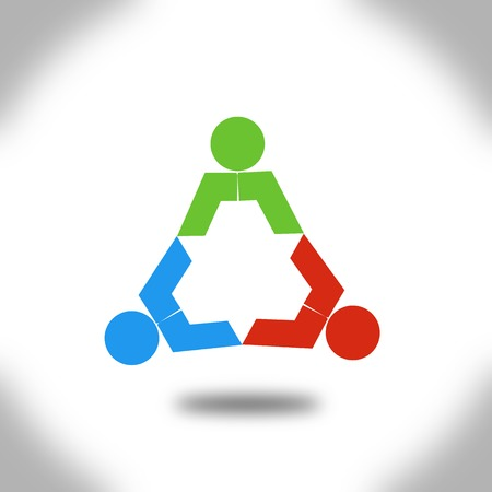 People triangle  Imagens