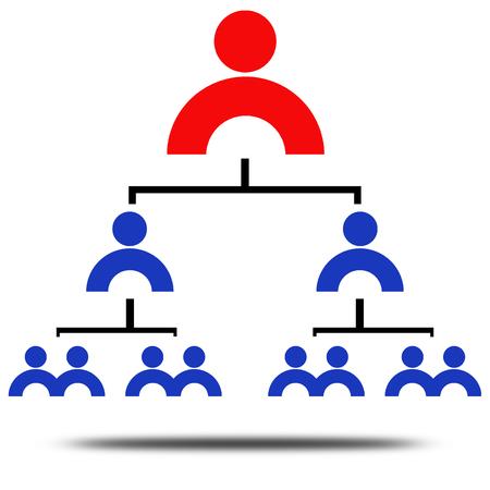 subordinates: Management rank Stock Photo