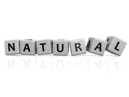 Natural  buzzword Stock Photo - 23825817