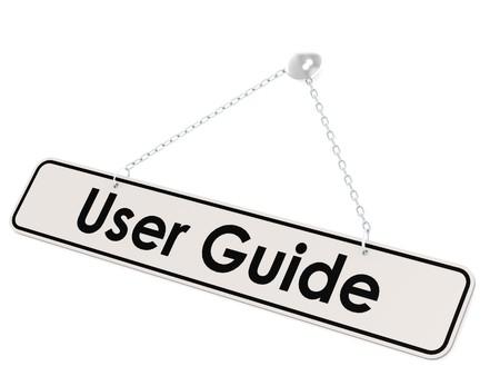 e user: User guide banner