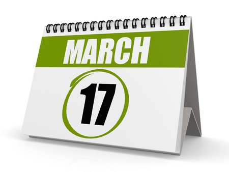 march 17: March 17, Saint Patrick s Day