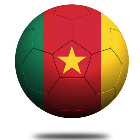 cameroon: Cameroon soccer Stock Photo