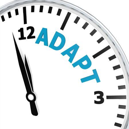 Adapt clock photo