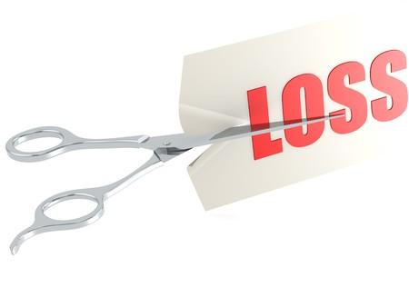 cutback: Cut loss