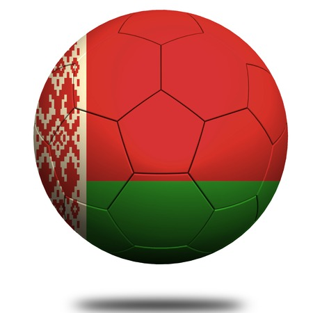 footie: Belarus soccer Stock Photo