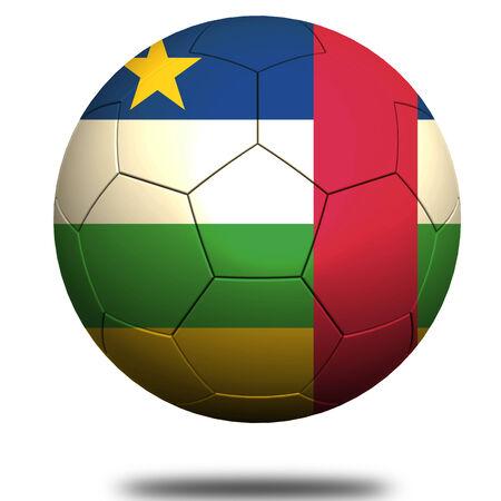 central african republic: Central African Republic soccer Stock Photo