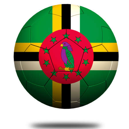 dominica: Dominica soccer Stock Photo