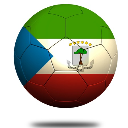 Guinea Ecuatorial fútbol Foto de archivo