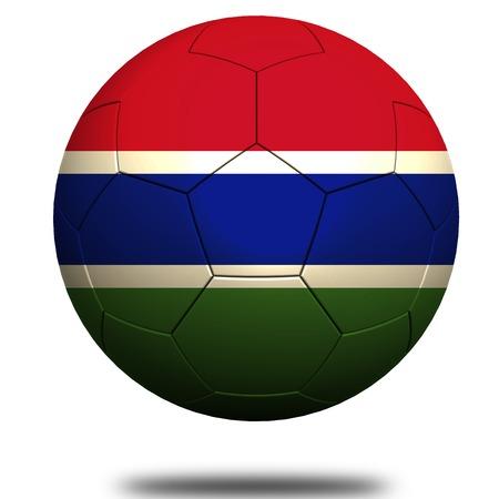 gambia: Gambia soccer Stock Photo