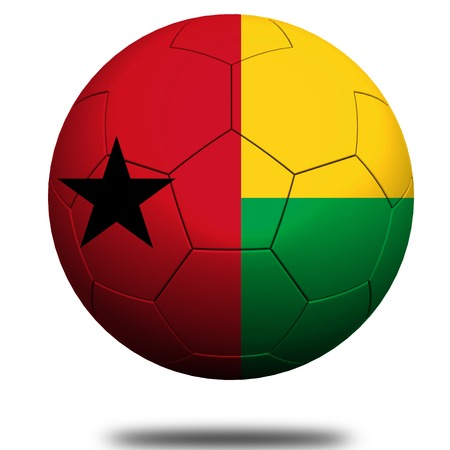 footie: Guinea-Bissau soccer Stock Photo