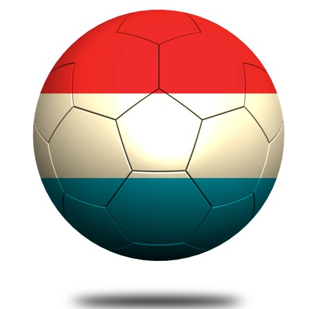 footie: Luxembourg soccer Stock Photo