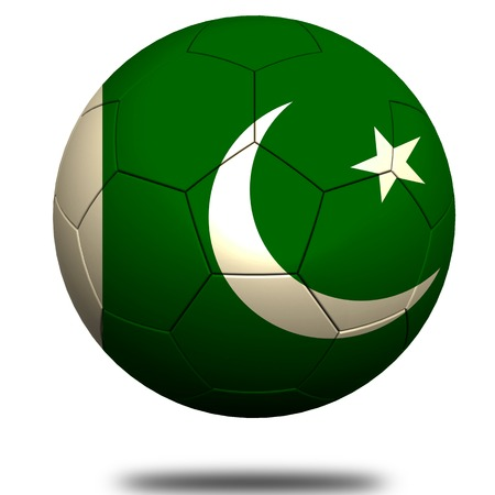 footie: Pakistan soccer Stock Photo