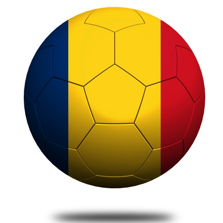 footie: Romania soccer Stock Photo