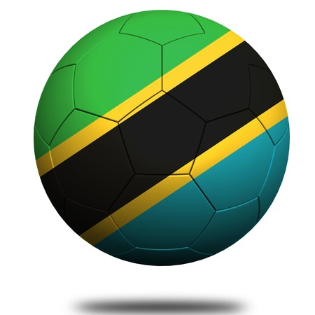 footie: Tanzania soccer Stock Photo