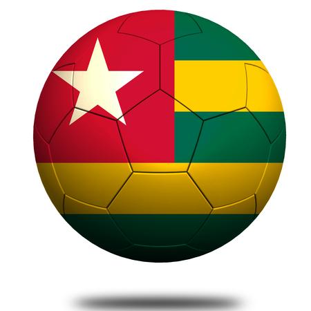 togo: Togo soccer Stock Photo