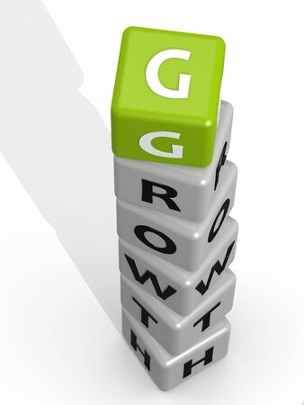 Growth buzzword green photo