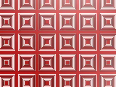 Red square pattern photo