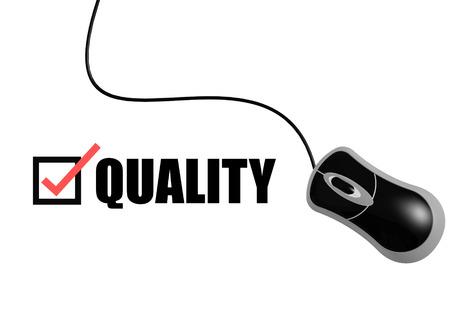 e survey: Quality with mouse