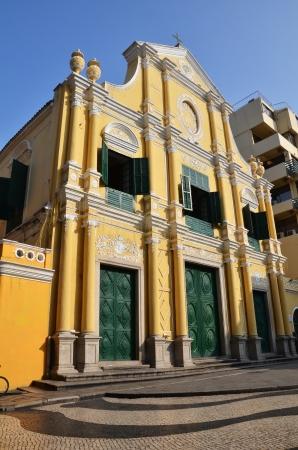 Ancient church in Macau