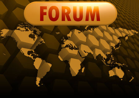 Forum world map photo