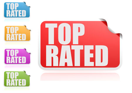 rated: Top rated label set