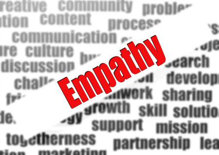 empathy: Empathy word cloud