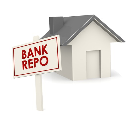 repo: Bank repo banner with house