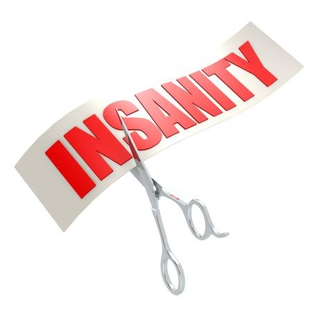 insanity: Cut insanity