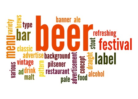 pilsener: Beer word cloud