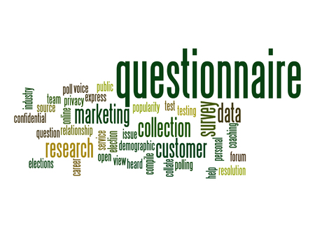 personal data privacy issues: Questionnaire word cloud