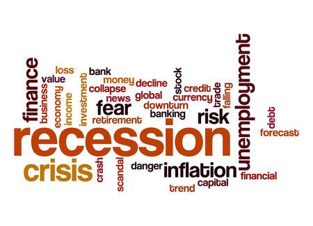 recession: Recession word cloud