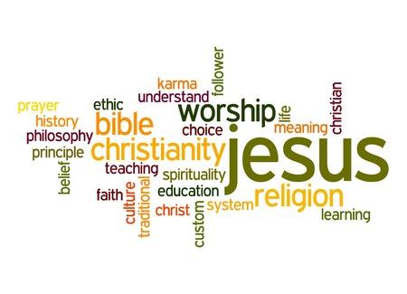 jesus word: Jesus word cloud
