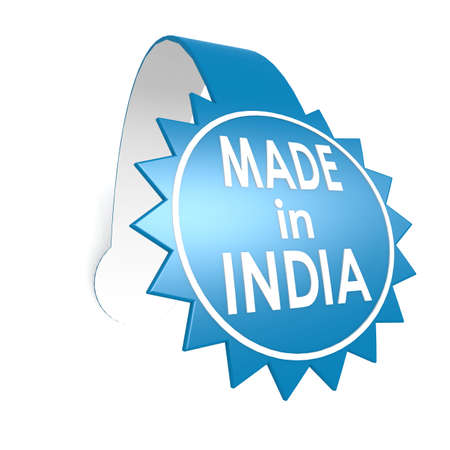 Made in India star label photo