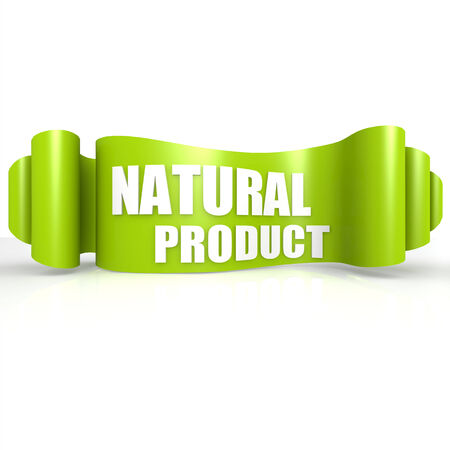 Natural product green wave ribbon photo