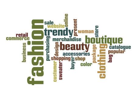 Fashion Industry word cloud photo