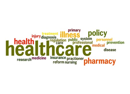 Healthcare word cloud photo