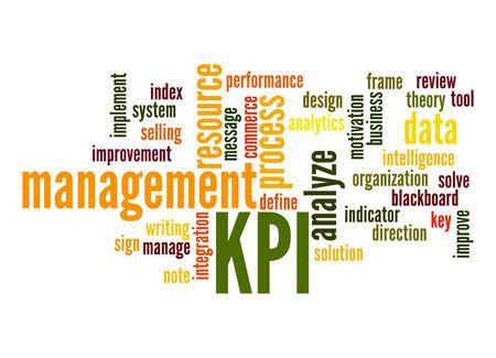 Key Performance Indicator word cloud Stock Photo