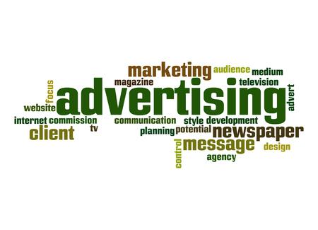 Advertising word cloud Stock Photo - 26151596