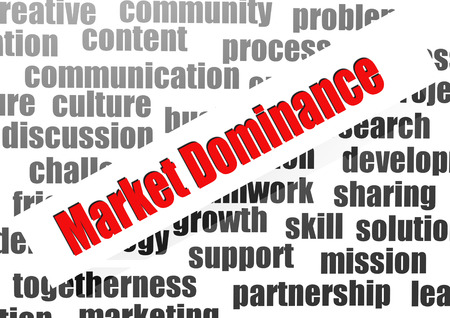 dominance: Market dominance word cloud