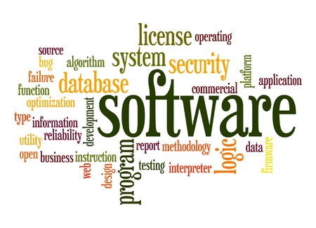 Software word cloud photo