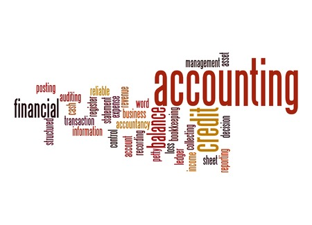 Accounting word cloud  photo
